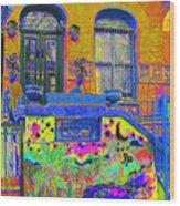 Wax Museum Harlem Ny Wood Print