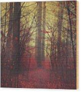 Way In Wood Print