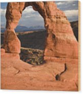 Way Of Delicate Arch  Wood Print