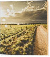 Way To Policemans Point Tasmania Wood Print