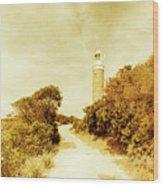 Wayback Beacon Wood Print