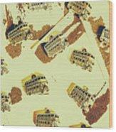 Wayback England Wood Print