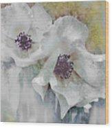 Wayside Flowers Wood Print