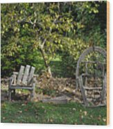 Wayside Rest Wood Print