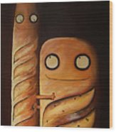 We Are So Different But We Are Together Wood Print