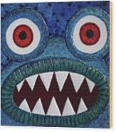 We Need Monsters #5 Wood Print