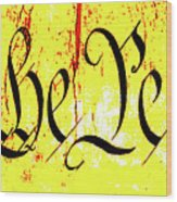 We The People Celebrate A Republic Artist Series Jgibney The Museum Wood Print