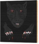 Wearwolf Wood Print
