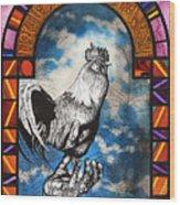 Weathercock II Wood Print