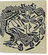 Weathered Bedu  Wood Print