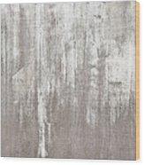 Weathered Metal Wood Print
