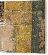 Weathered Wall Wood Print