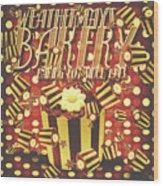 Weathermays Bakery 1943 Wood Print