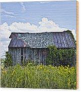 Weatthered Barn Wood Print