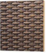 Weave Wood Print