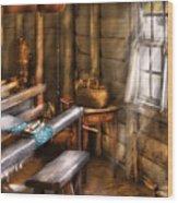 Weaver - The Weavers Room Wood Print