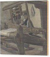 Weaver Nuenen, December 1883 - August 1884 Vincent Van Gogh 1853 - 1890 3 Wood Print