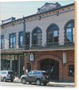 Webb Hall Jackson City Wood Print