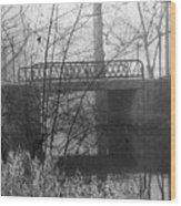 Webster Bridge Wood Print
