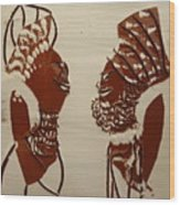 Wedded Bliss - Tile Wood Print