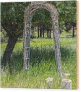 Wedding Bliss Wood Print