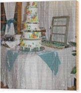 Wedding Cake Wood Print