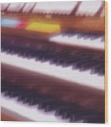 Wedding Chapel Organ Wood Print