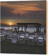 Wedding Crashers Wood Print