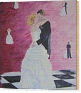 Wedding Dance Wood Print
