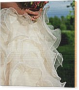 Wedding Day Wood Print