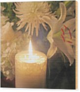 Wedding Flowers Wood Print