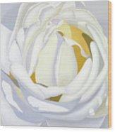 Wedding Rose Wood Print