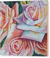 Wedding Roses Wood Print