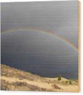 Wednesday Morning Rainbow Wood Print