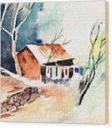 Weekend House Wood Print