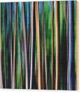 Weeping Yellowstone Trees Wood Print