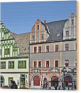 Weimar Germany - A Town Of Timeless Appeal Wood Print