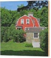 Weir Farm National Historic Site Wood Print