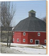 Welch Round Barn Wood Print
