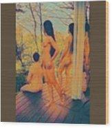 Welcome The Dusk Wood Print
