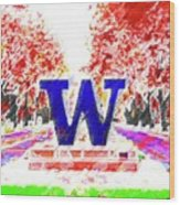 Welcome To Washington Wood Print
