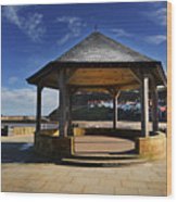 Welcome To Whitby Wood Print