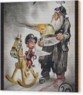 Welcoming 1942 Wood Print