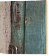 Well Locked Wood Print