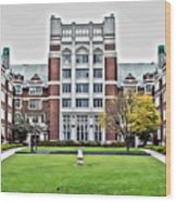 Wellesley College Tower Court Wood Print