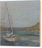 Wellfleet Beached Wood Print