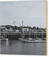 Wellfleet Harbor Wood Print