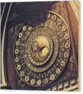 Wells Cathedral Astronomical Clock  Wood Print