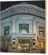Wells Fargo Bank Building In San Francisco, California Wood Print