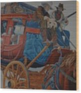 Wells Fargo Stagecoach Wood Print